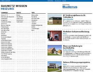 Online lexikon Baunetz Wissen Heizung